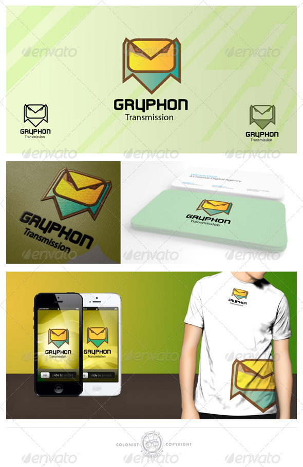 GraphicRiver Gryphon logo 4375262