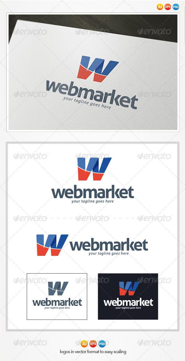 Web Market - Letters Logo Templates