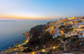 Oia and Ammoudi after sunset - PhotoDune Item for Sale