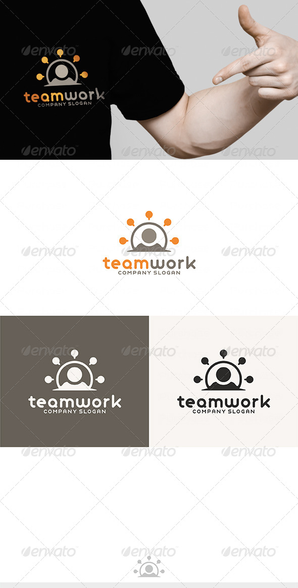 Team Work Logo - Humans Logo Templates