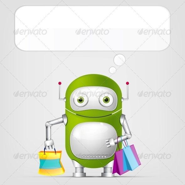 GraphicRiver Robot 4378252