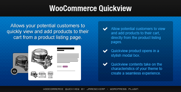 CodeCanyon WooCommerce Quickview 4378284
