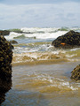 High Tide Coming in on the Oregon Coast at Ecola Beach - PhotoDune Item for Sale