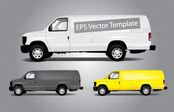 GraphicRiver Vans Template 470368