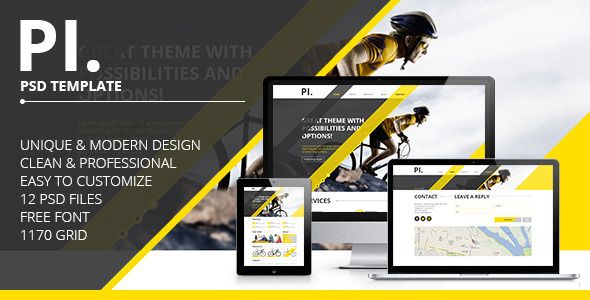 PI. - Portfolio PSD Template - Portfolio Creative