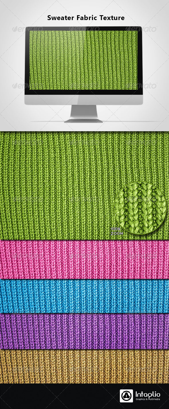 GraphicRiver Sweater Fabric Texture 4380524