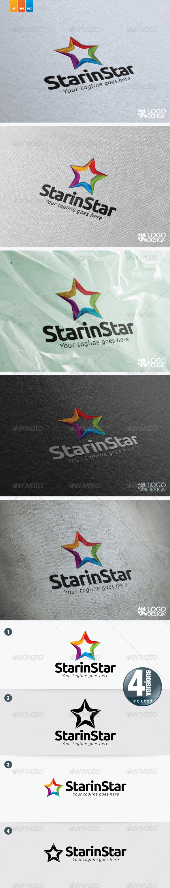 Star in Star - Symbols Logo Templates