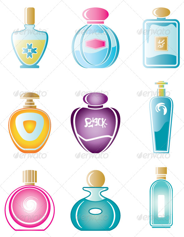 GraphicRiver Perfume Set 4382107