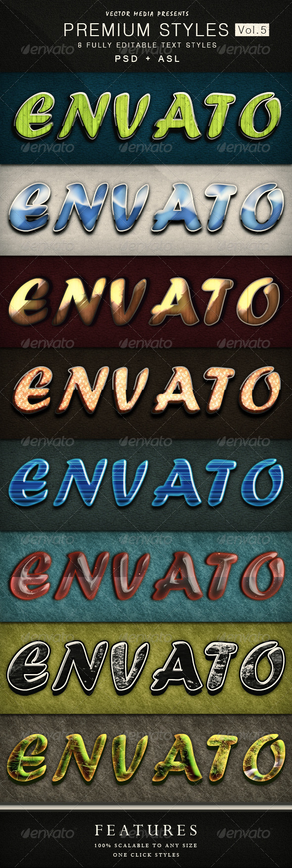 GraphicRiver Premium Text Styles Vol.5 4382228