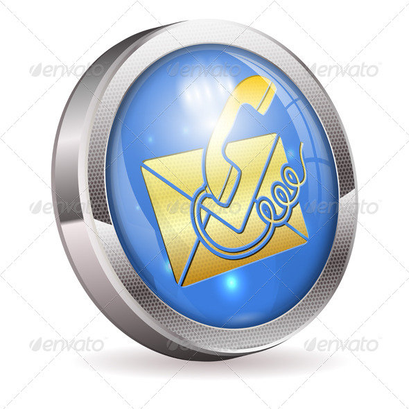 GraphicRiver Button Contact Us 4382659
