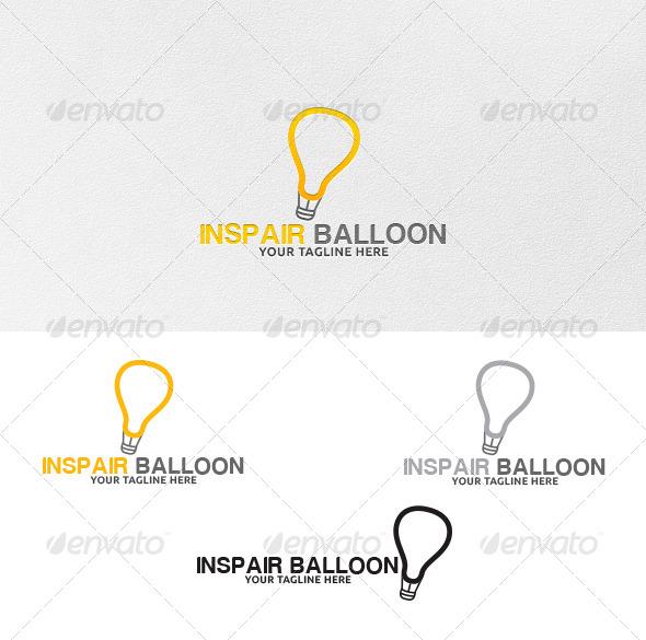 Inspair Balloon Logo Template