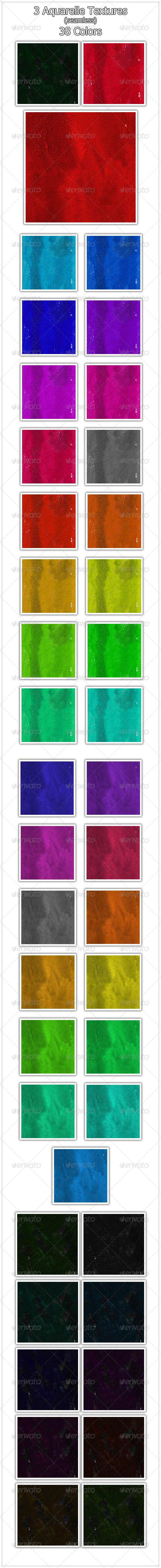 Aquarelle Textures (seamless) - Art Textures