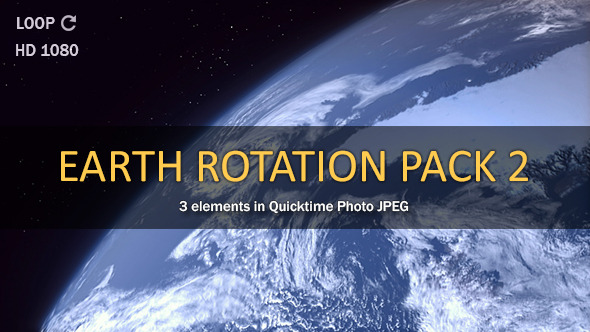 Earth Rotate Pack 2