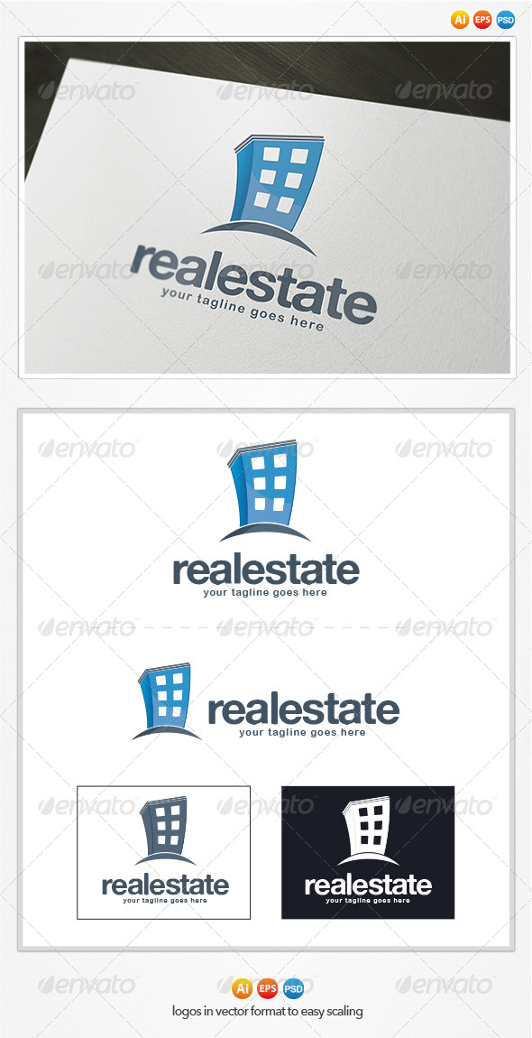 GraphicRiver Real Estate Logo 4383393