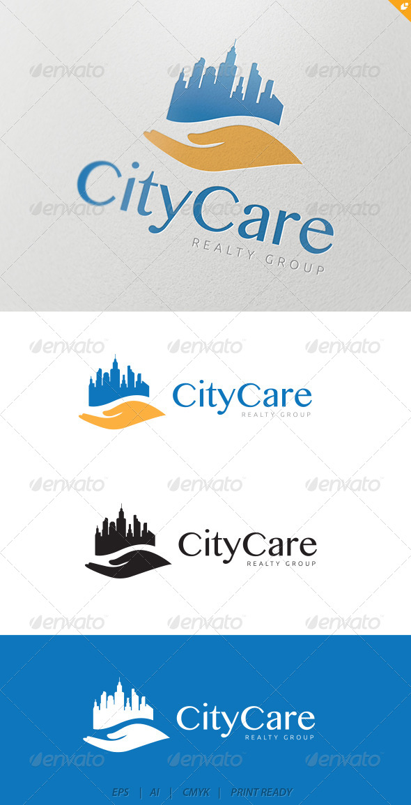 GraphicRiver City Care Logo 4383929