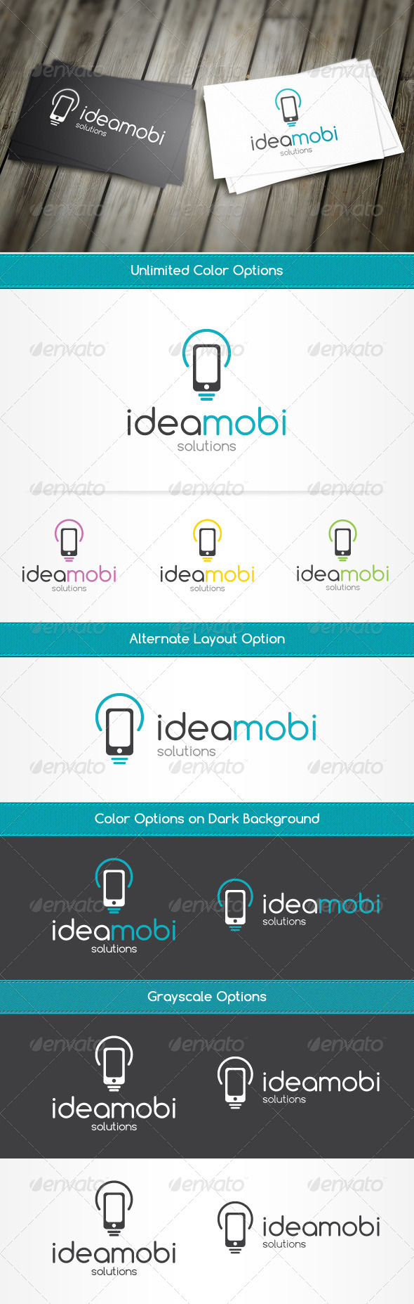 GraphicRiver IdeaMobi Logo Template 4301098