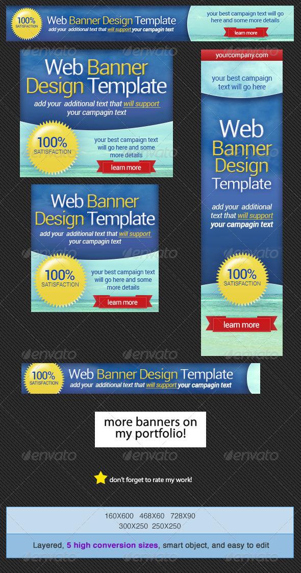 GraphicRiver Web Banner Design Template 4384471