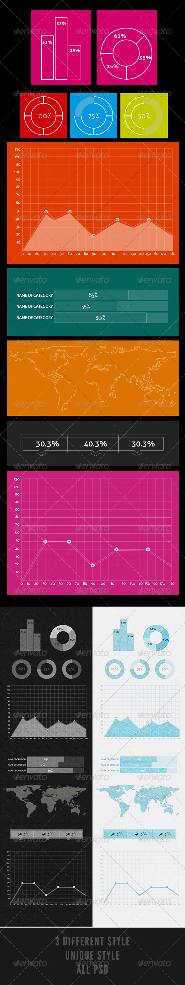 GraphicRiver Pioneer Infographic 4348742