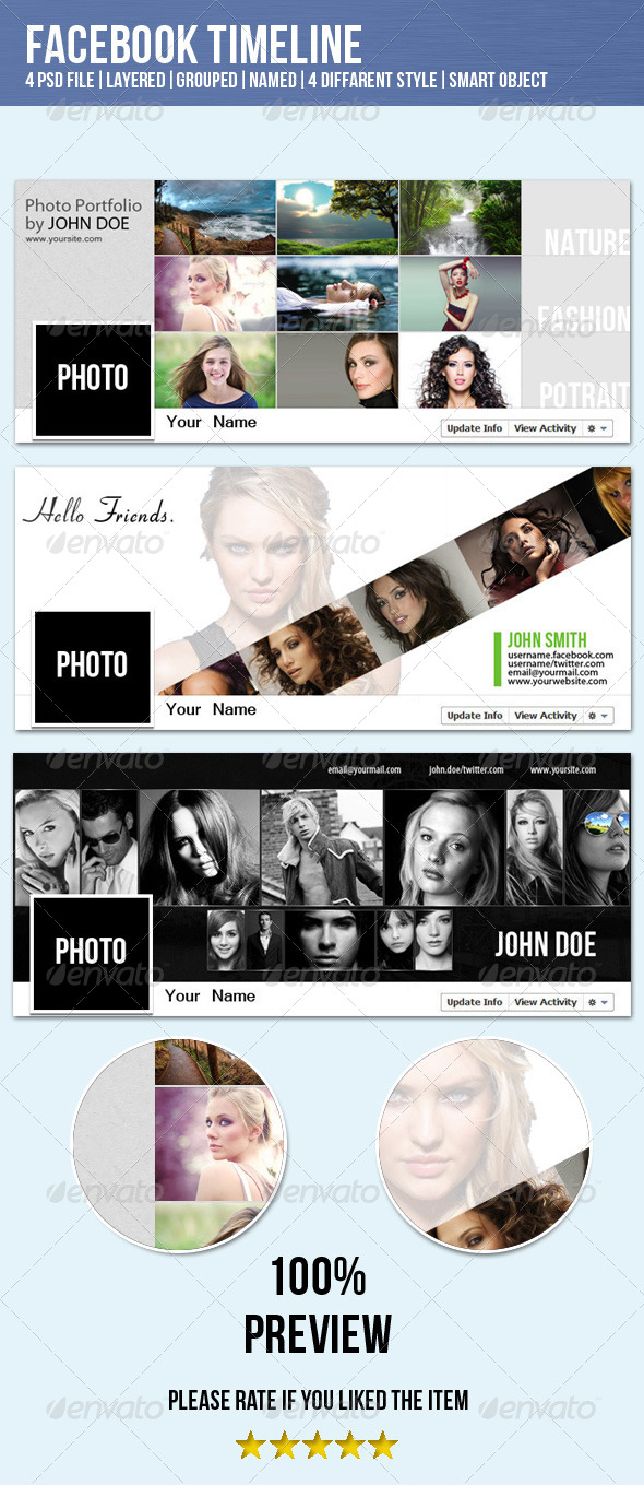 GraphicRiver Fresh&Clean Facebook Timeline Cover Image 4009089
