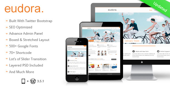 Eudora :  Responsive Multi Purpose Corporate Theme
