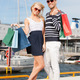 young couple in duty free shop - PhotoDune Item for Sale