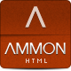 Ammon Template - ThemeForest Item for Sale