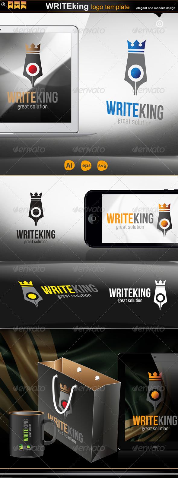 GraphicRiver write king 4248514