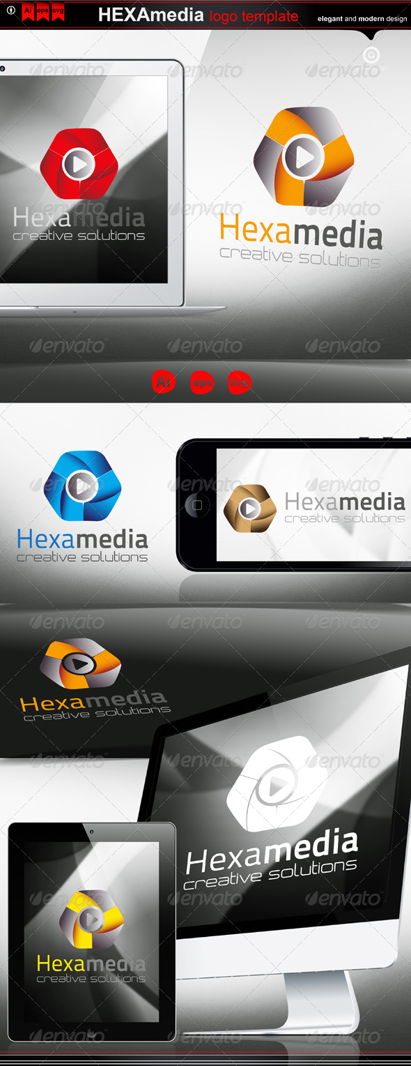 GraphicRiver hexa media 4232396