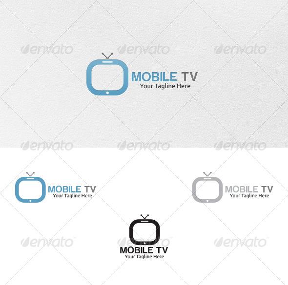 GraphicRiver Mobile Tv Logo Template 4310312