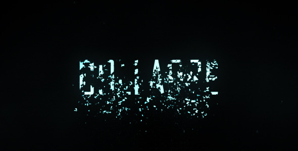 Collapse Title Trailer VideoHive -   Titles  Grunge 461836