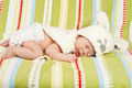 Sleeping little Easter newborn baby - PhotoDune Item for Sale