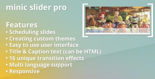 CodeCanyon Minic Slider Pro for Prestashop 3933140