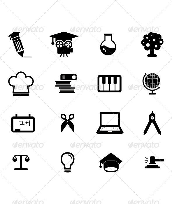 GraphicRiver Education Icon 4388156