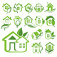 Eco Houses - GraphicRiver Item for Sale