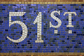 51st Street Station Sign New York - PhotoDune Item for Sale
