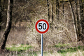 Speed Limit 50 - PhotoDune Item for Sale