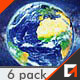 Earth Zoom (6 Pack) - VideoHive Item for Sale