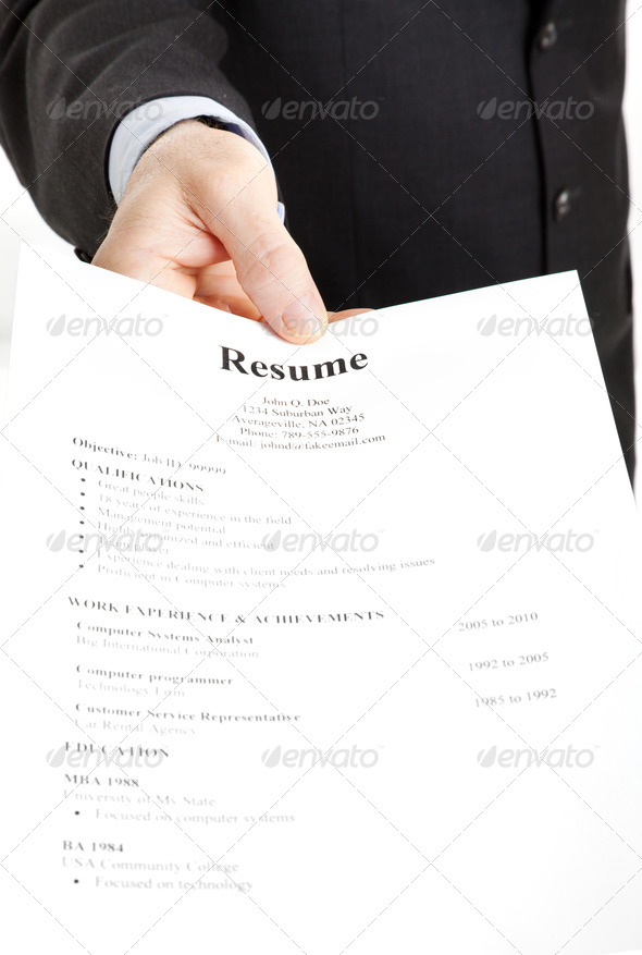 PhotoDune Job Search Resume 472040