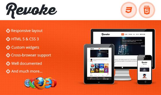 Revoke – Responsive HTML Theme