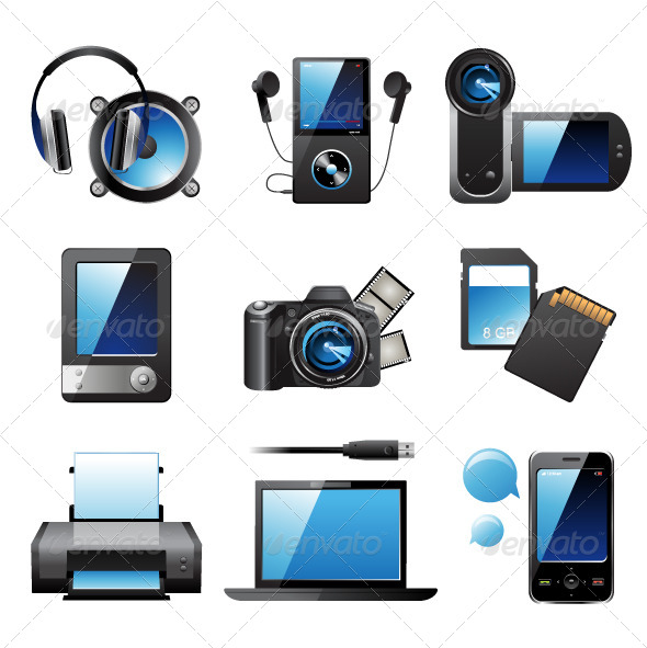 GraphicRiver Electronic Devices 4330271