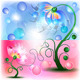 Fairy Blue Mum and Baby flowers - GraphicRiver Item for Sale