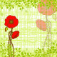 Springtime Red Poppy Greeting Card - GraphicRiver Item for Sale