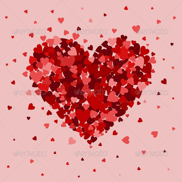 Love heart5 - Stock Photo - Images