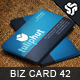 Business Card Design 42 - GraphicRiver Item for Sale