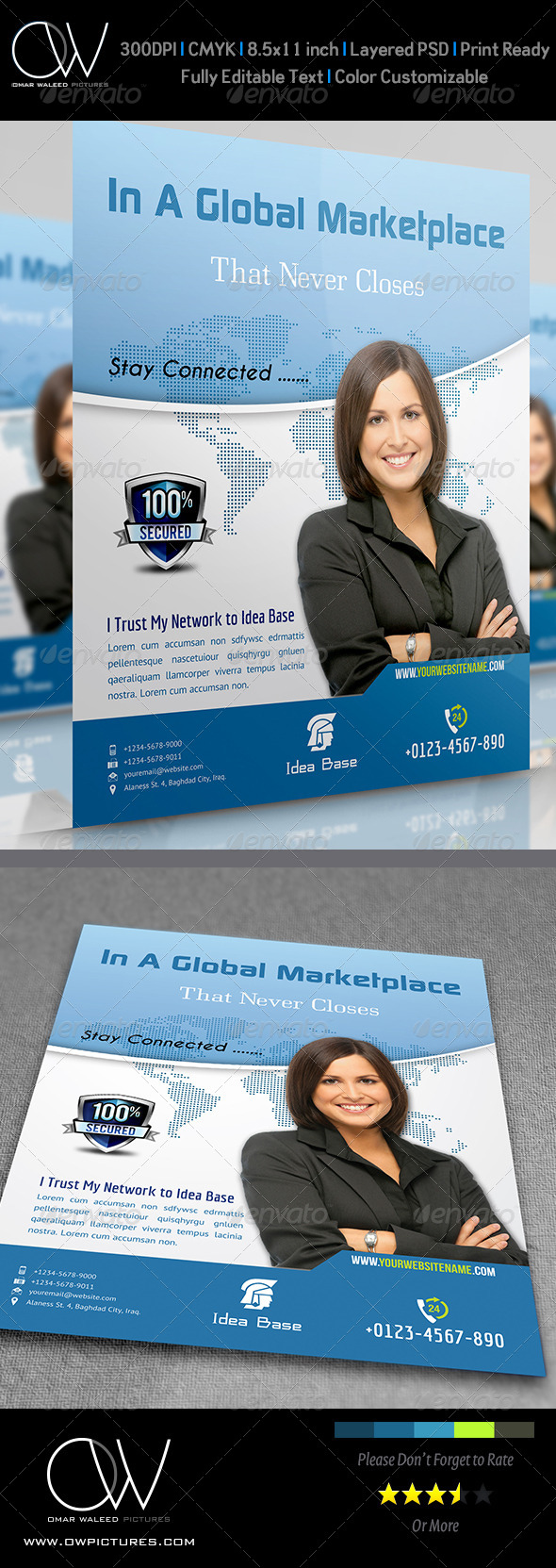 GraphicRiver Corporate Flyer Vol.4 4394349