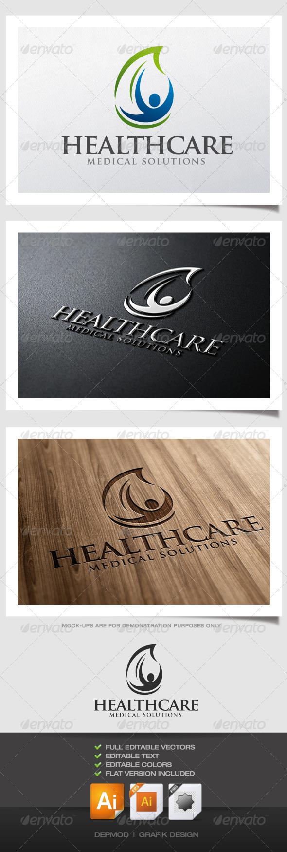 GraphicRiver Health Care Logo 4320000