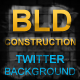 Building Construction Twitter Background Picture - GraphicRiver Item for Sale