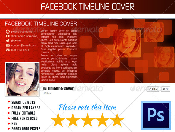 GraphicRiver FB Timeline Cover 005 4396361
