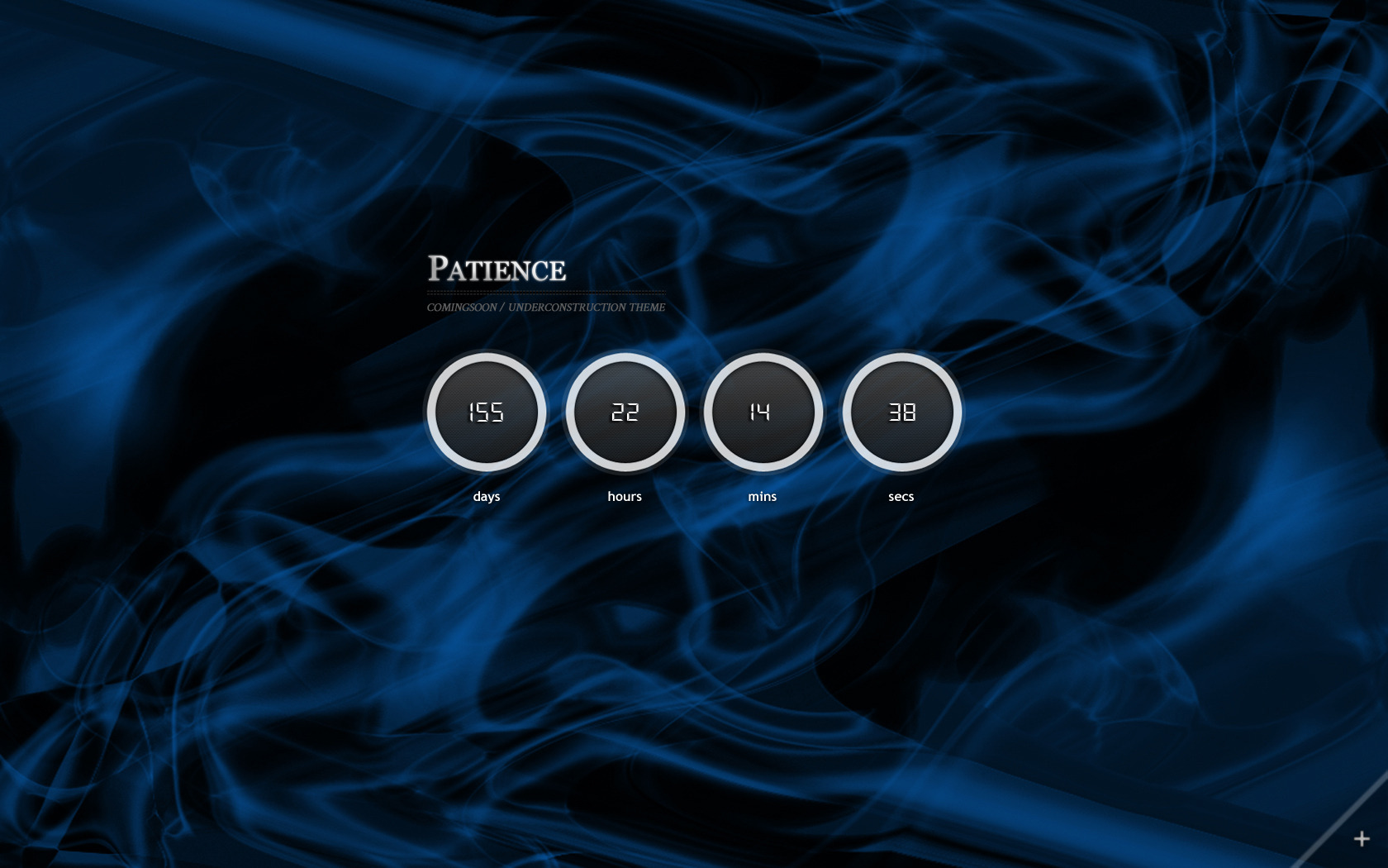 Patience - Full Background Underconstruction