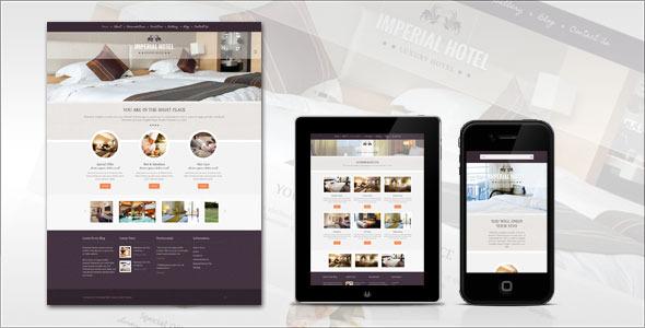 Imperial: Hotel WordPress Theme
